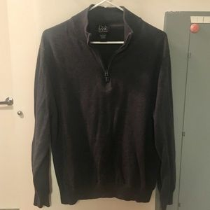 Jos. A. Bank Signature Collection Gray Sweater